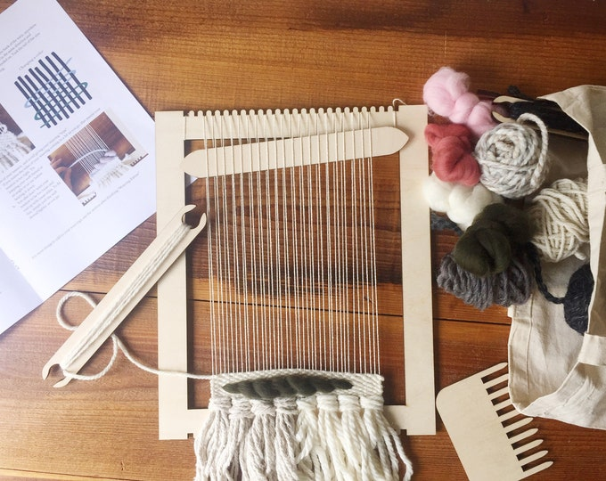 Beginners Frame Loom Weaving Kit