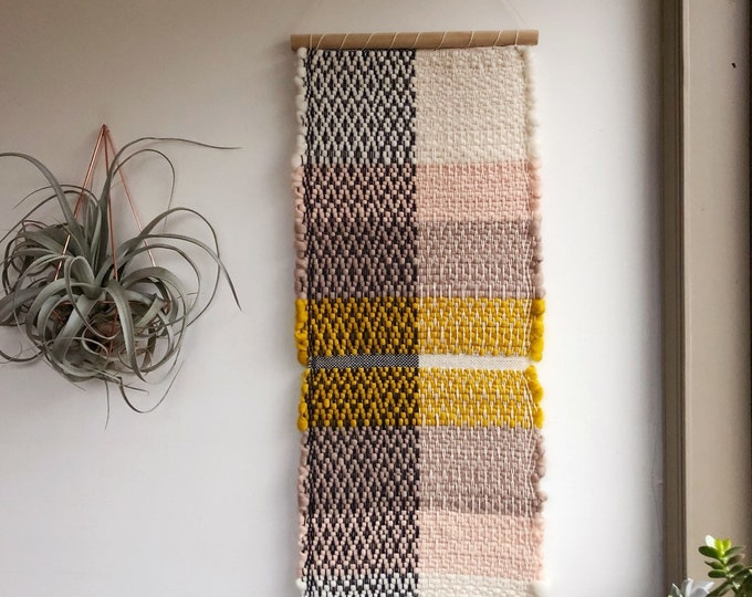 Spring Dawn Woven Wall Hanging