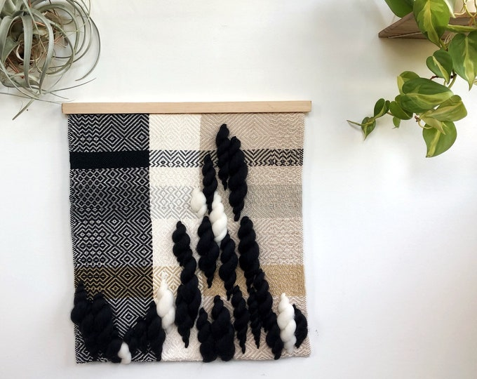 Midnight Gazing Woven Wall Hanging
