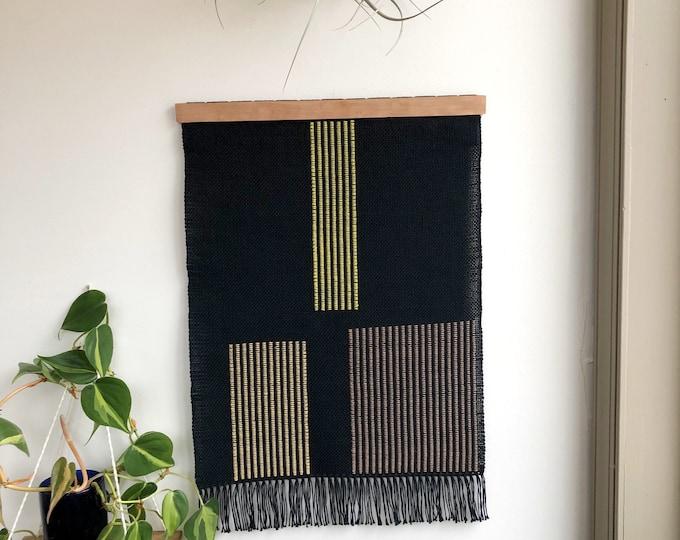 Midnight Garden Woven Banner