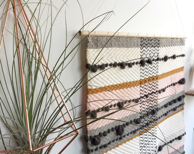 Overcast Sunrise Woven Wall Hanging