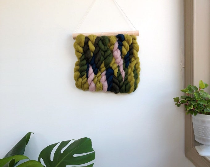 Shady Forest Wool Banner