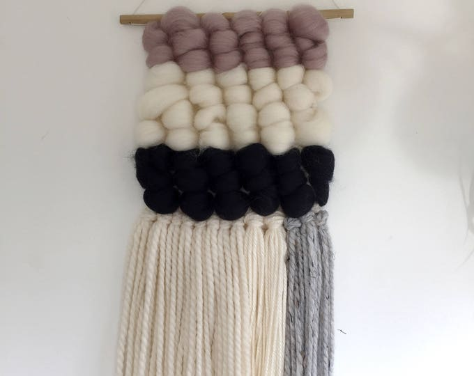 Wool Loops Woven Wall Hanging