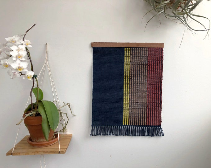 Color Rows Woven Banner