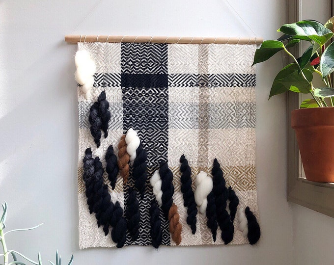 Easy Night Woven Wall Hanging