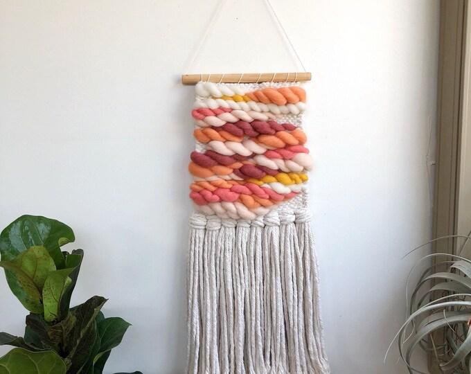 Summer Sun Woven Wall Hanging