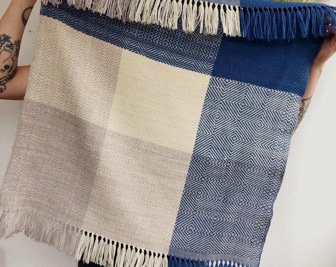 Handwoven Wool Baby Blanket