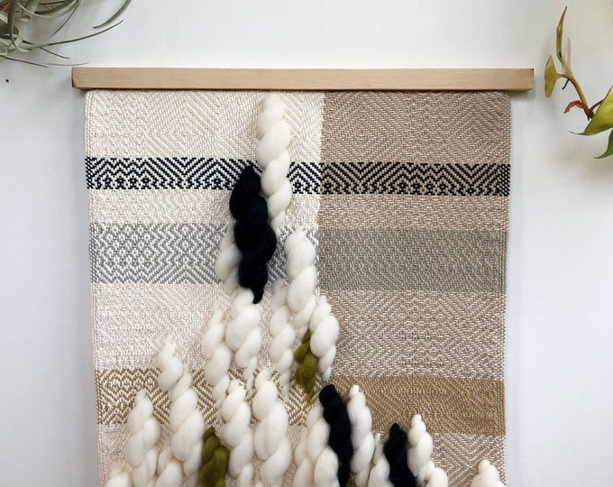 Melting June Woven Wall Hanging