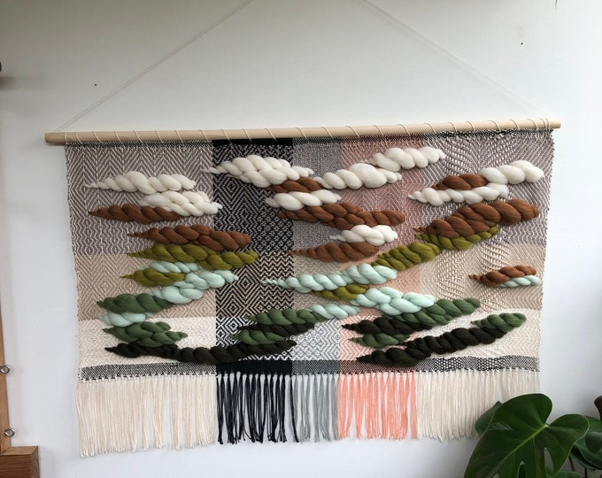 Spring Green Has Sprung Woven Wall Hanging