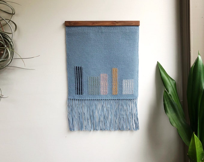 Lined Up Woven Banner