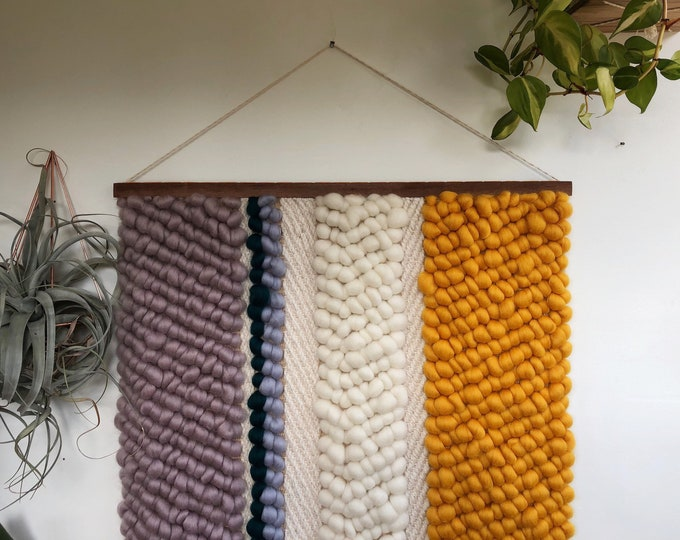 Golden Hour Woven Wall Hanging