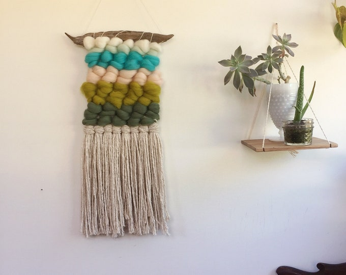 Wooly Woven Wallhangings