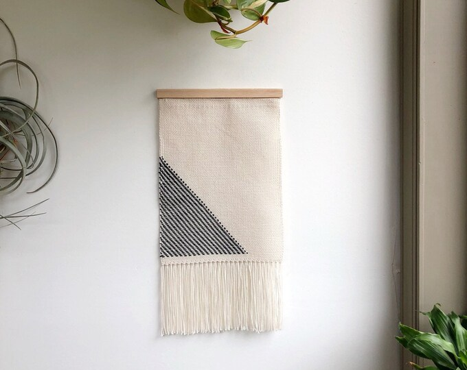 Small Cotton Woven Banner