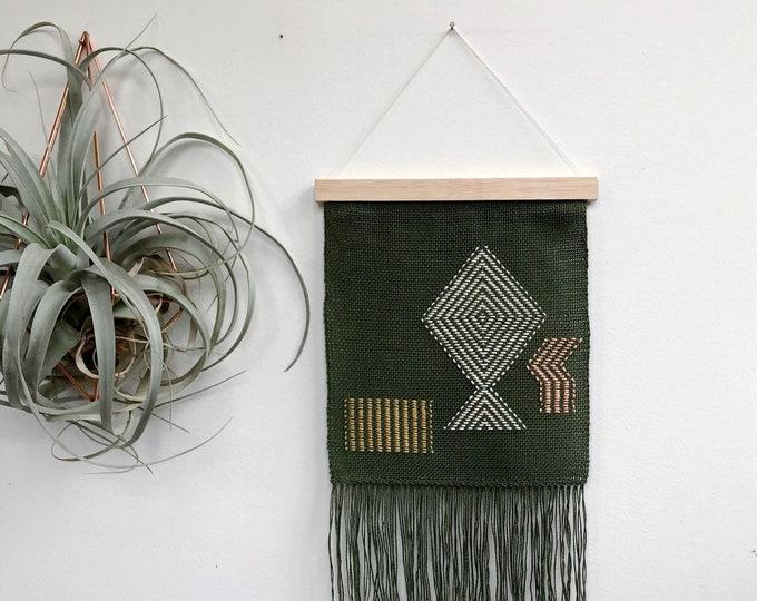 May Garden Woven Banner