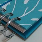 Mini Envelope Wallet/ Cash Envelope Wallet/ Envelope System Wallet/ Envelope System/ Budget Wallet / Cash System/ FPU/ Tabs/ Bold Turquoise