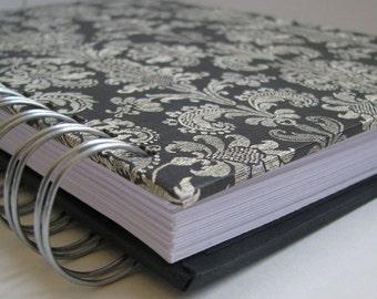 Address Phone Book - Unique Address Book - Address Book With Tabs - Address Book - Email Address Book - Replacement Label - Contact - Damask