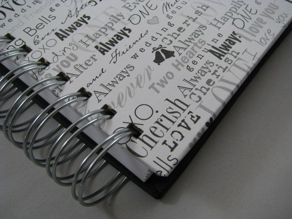 wedding guest book wedding keepsake wedding guest book etsy