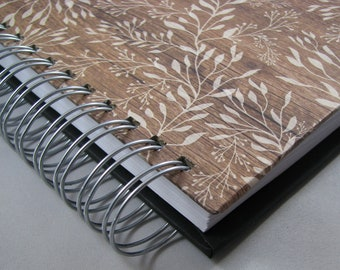 Five Year Diary - Line Day Journal - Gratitude Journal - Line A Day Diary - Five Year Journal - Yearly Journal - Lined Journal - Wood Print
