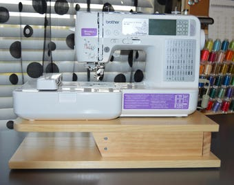 Embroidery Machine Riser for a Brother SE400, Office Accessory Machine Embroiderers, Embroider Free Arm Sewing, Furniture Shelf Stand