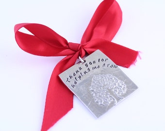 Teacher Thank You Gift - Christmas Ornament for Teacher - Teacher Appreciation Gift - 2017 Ornament - Gift from Child - Student Gift