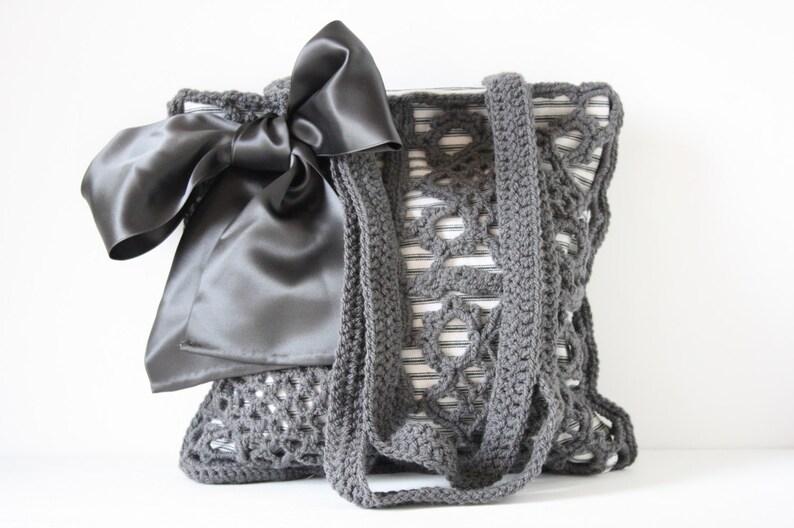 Crochet shoulderbag Gigi image 0