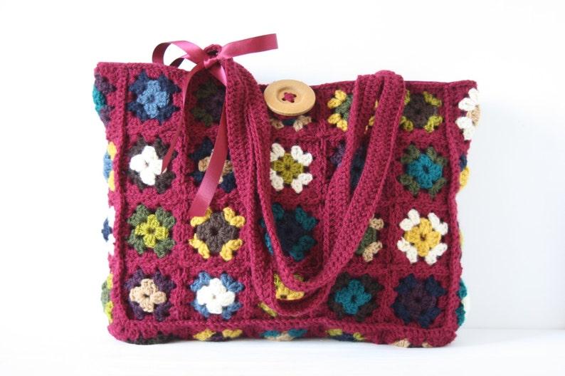 Crochet shoulderbag Philaine image 0