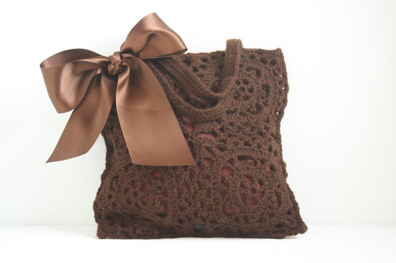 Crochet handbag Bridget image 0