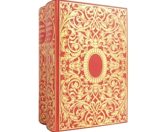 Lorna Doone - decorative two-volume edition with cloth jackets circa 1890 - Free US Shipping
