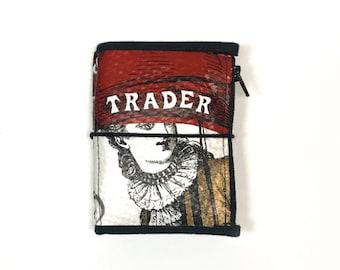 Micro Wallet Bundle Umbrella Lady Design planner wallet