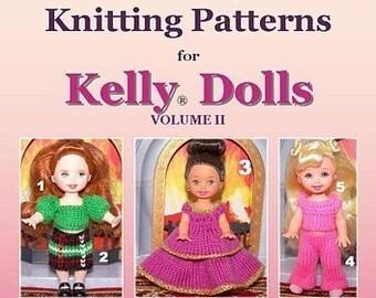 PDF - Knitting Patterns for Kelly Dolls by KazKnitz VOL 2