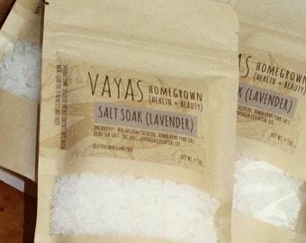 Salt Soak (Lavender)