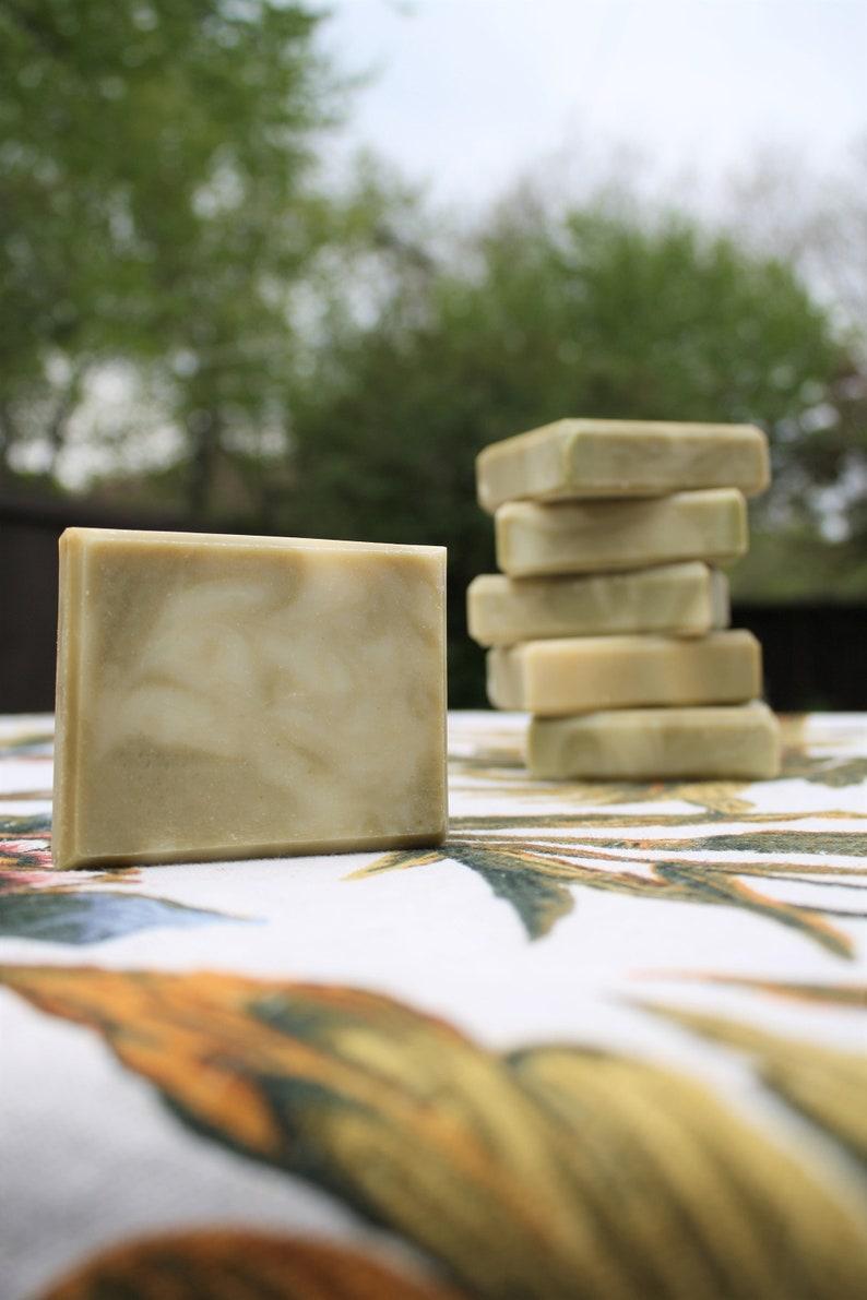 Tea Tree/Peppermint Soap Organic Ingredients image 0