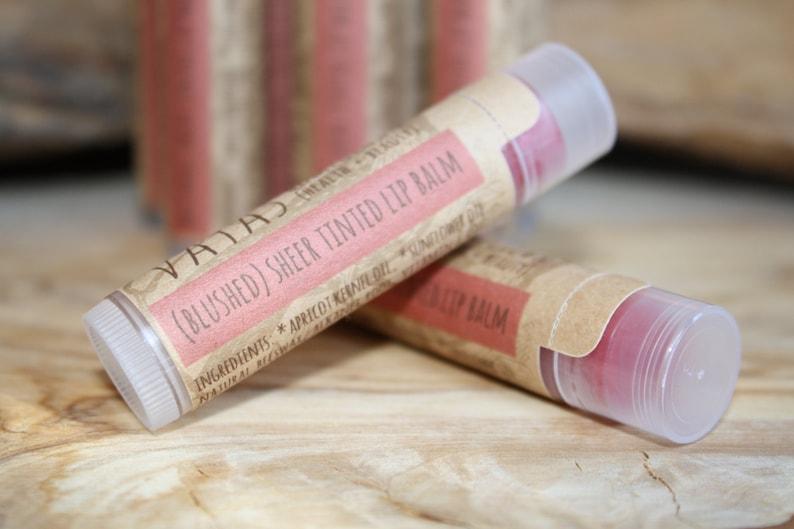 Blushed  Sheer Tinted Lip Balm image 0