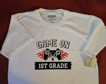 SALE - Game On Grade - School T-Shirt - All Grades Available