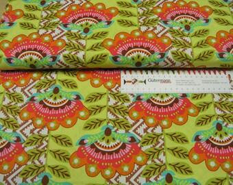 Michael Miller • Fiesta • Ernesta Chocolate • Cotton Fabric 0.54yd (0,5m) 002148