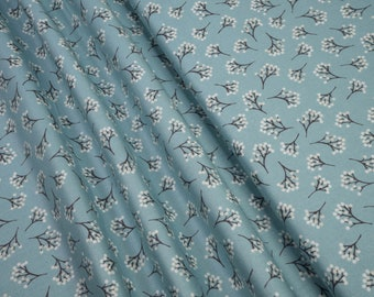 Andover Into the Woods Berry Blue TP-1853/B5 0.54yd (0.5m)