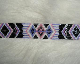SAVANNAH Beaded Cuff Bracelet