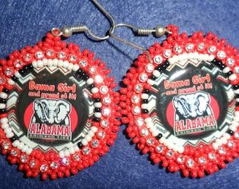 Alabama  Beaded earrings