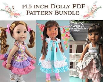 14.5 Inch Dolly PDF Pattern Bundle