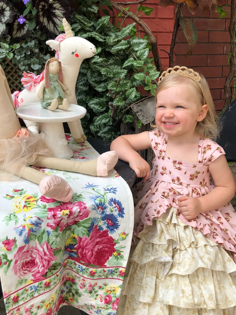 The Tea Party Dress PDF Pattern...Instant Download 6 months image 0
