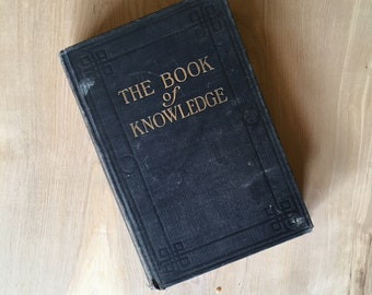 Book Of Knowledge - Table top Decor - Vintage Book