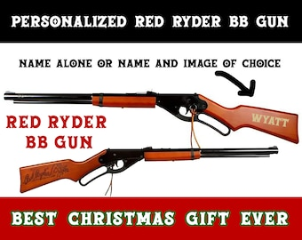 Personalized Red Ryder BB gun - FREE SHIPPING - Limited Time Offer