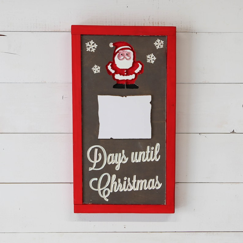 Days until Christmas  Countdown to Christmas Marker Board  image 0