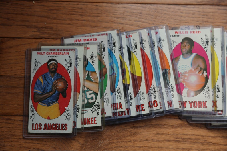 NEW LOWER PRICE  1969-1970 Topps Basketball Complete Set image 0