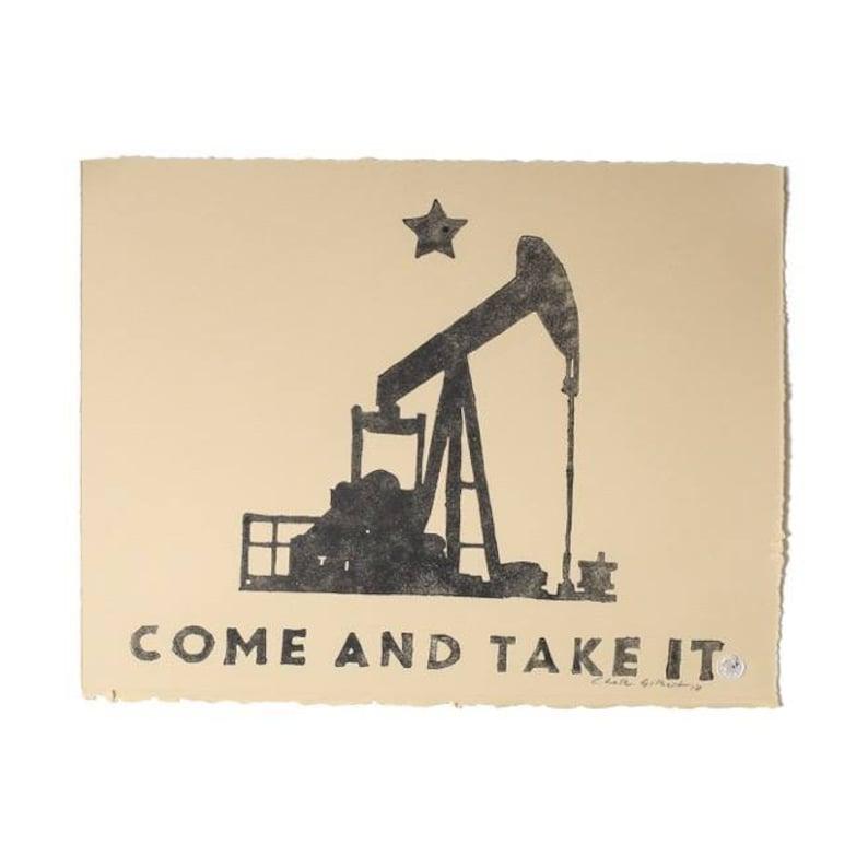 Pumpjack Texas Tea Come and Take it
