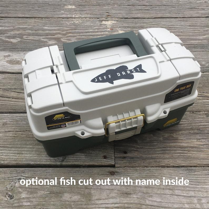 Personalized Fishing Box  FREE SHIPPING image 0