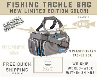 Personalized H2O XPRESS 4 Box Tackle Fishing Bag - Free Shipping - soft tackle bag