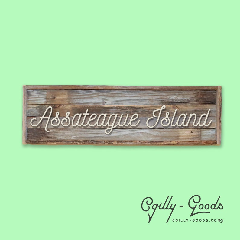 Personalized Barn Wood Beach Signs  NEW LOWER PRICE image 0