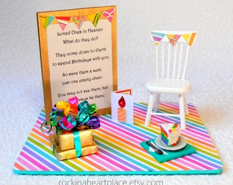 picture relating to My First Christmas in Heaven Poem Printable identified as Vacant chair poem Etsy