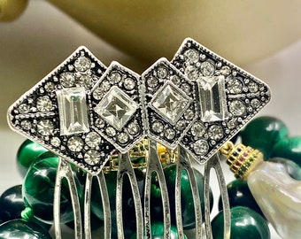 Art Deco Style Hair comb Filigree Hair Accessories Vintage style intricate Small Elegant Hair Combs by MyElegantThings